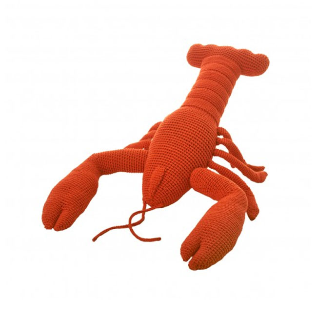 Small Crochet Lobster