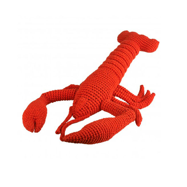 Large Crochet Lobster